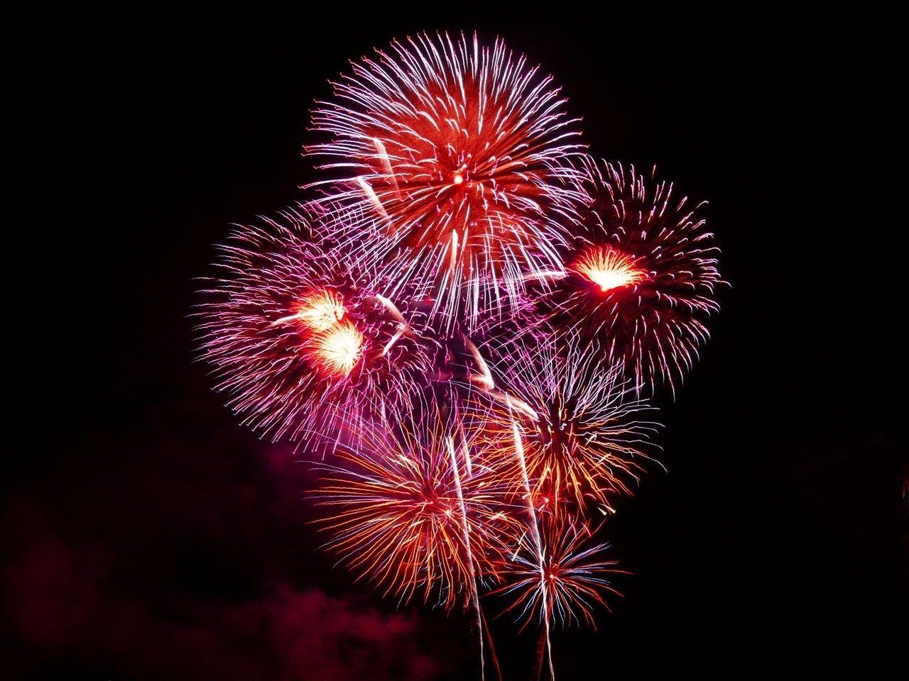 fireworks transparent.