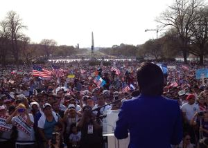 immigration rally photo